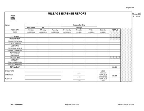 mileage expense report template excel best photos of easy expense report form simple expense