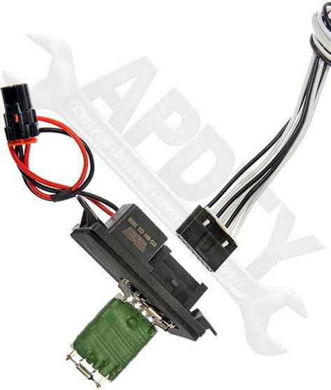precision power speed resistor harness apdty 084510 blower motor speed resistor harness pigtail fits select gm models