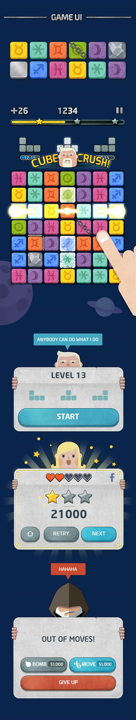 game design master cube master game design on behance