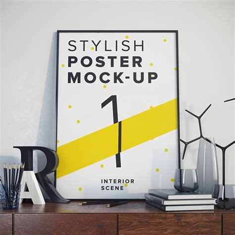 free poster mockup template 25 free psd poster and flyer mockup templates webprecis