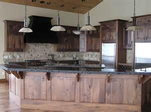 Custom Rustic Kitchen Cabinets Rustic Kitchen Cabinets Utah Swirl Woodcraft