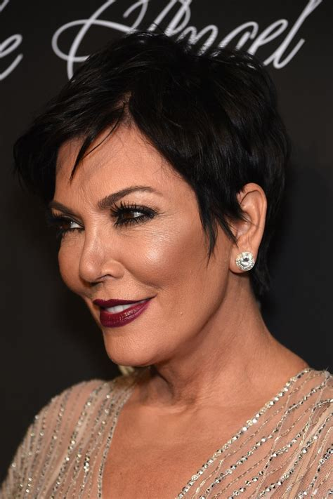 kris jenner messy cut messy cut lookbook stylebistro