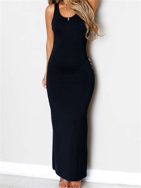 Backless Strappy Dress undoubtedly selection black backless strappy