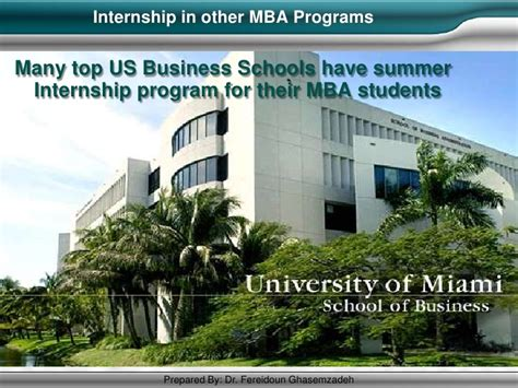 Mba Summer Internship Chicago by Mba Best Practices