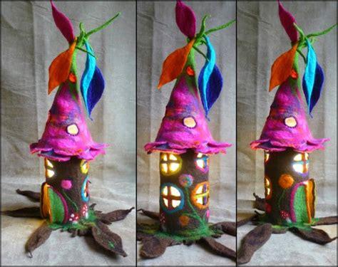 easy diy fairy houses  empty toilet