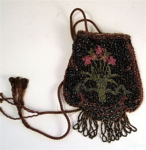 beaded purses for sale awesome floral beaded purse w drawstring for sale