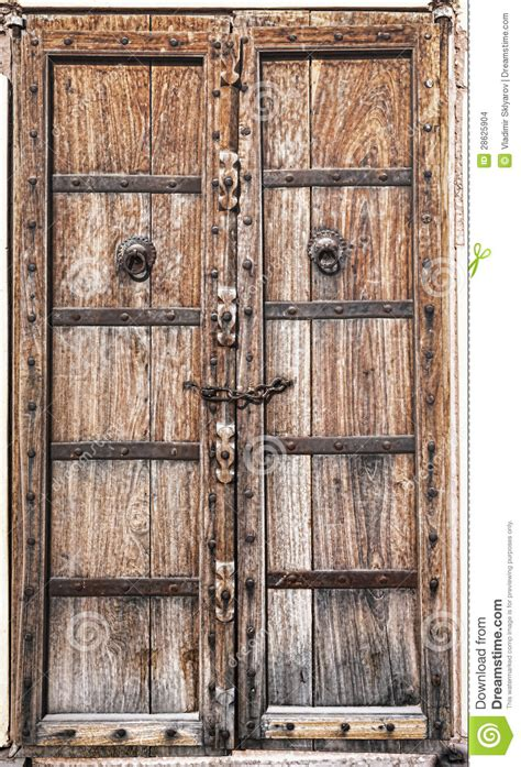 Historic House Plans by Old Wooden Door Stock Images Image 28625904