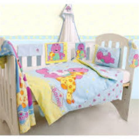 cot bedding barney quilt comforter set was sold for r101