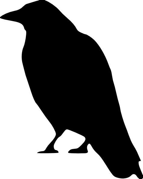 crow standing clip art at clker com vector clip art