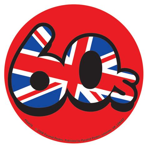 Union Jack Aufkleber by 60 S Union Jack Sticker Sold At Ukposters