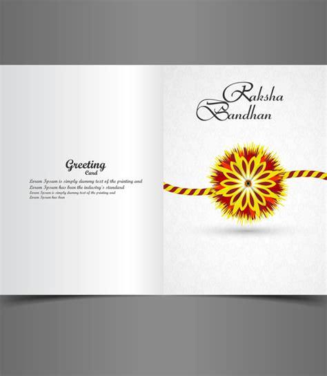 raksha bandhan card template raksha bandhan bright colorful greeting card rakhi indian