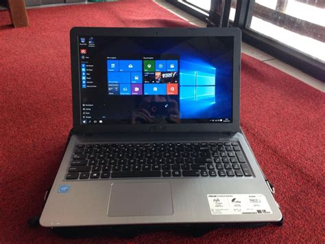 Second Laptop Asus Celeron jual laptop laptop asus x540s celeron like new garansi
