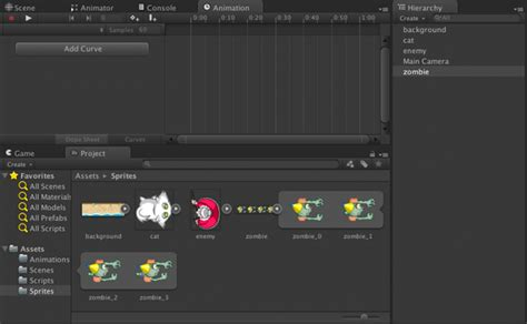 layout d animation unity 4 3 2d tutorial animations