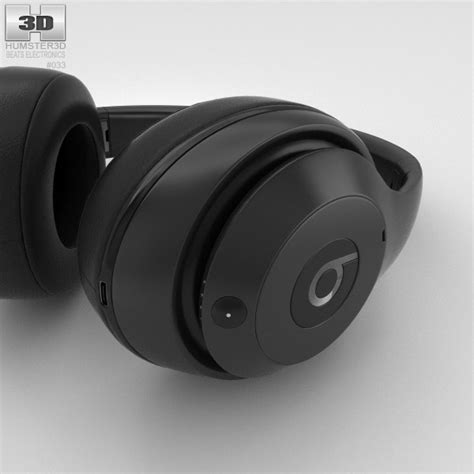 beats by dre studio matte black beats by dr dre studio wireless ear matte black 3d