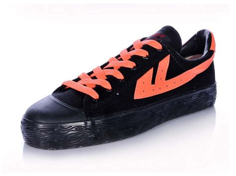 orange and black womens basketball shoes warrior footwear warrior footwear black shoes warrior