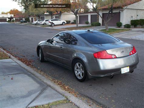 2004 infiniti g35 black 2004 infiniti g35 silver and black coupe 2 door 3 5l