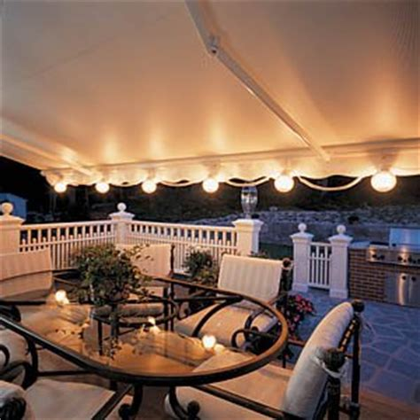 Patio Awning Lights Sunsetter Patio Lights Patio Deck Lights