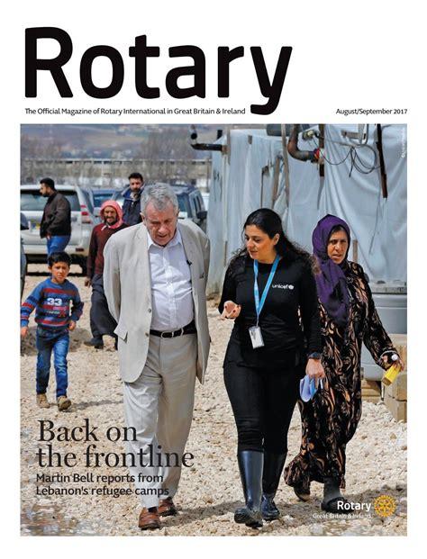 Magazen 14rotari rotary magazine august september 2017 by rotary international in great britain and ireland issuu