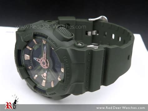 Casio G Shock Gma S110vc 3a Original 1 buy casio g shock s series matte green sport gma