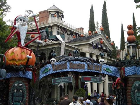 nightmare before christmas haunted mansion pictures