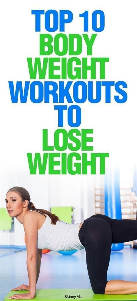 10 Top Exercises To Lose Weight by Top 10 Weight Workouts To Lose Weight