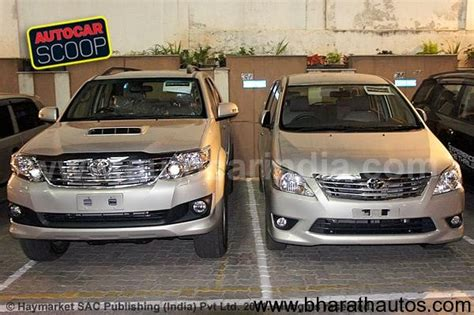 Grill Model Raptor Grand Fortuner spied new toyota innova and fortuner without camo in bangalore