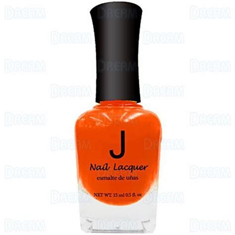 j los nail polish j nail polish 002 neon orange 6pcs dream world products