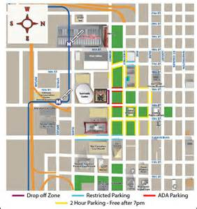 parking area map peabody opera house