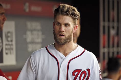 baseball haircuts bryce harper s new haircut makes him look just like