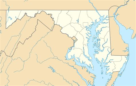 usa map states maryland 파일 usa maryland location map svg