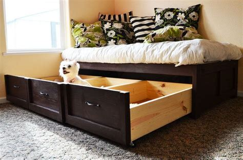 build a daybed daybed with storage trundle drawers furniture plans to