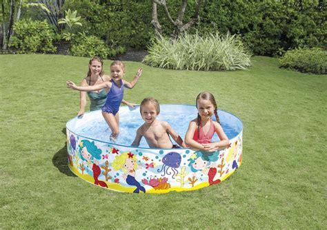 piscine semi rigide 6087 piscinette intex semi rigide sirenes piscines