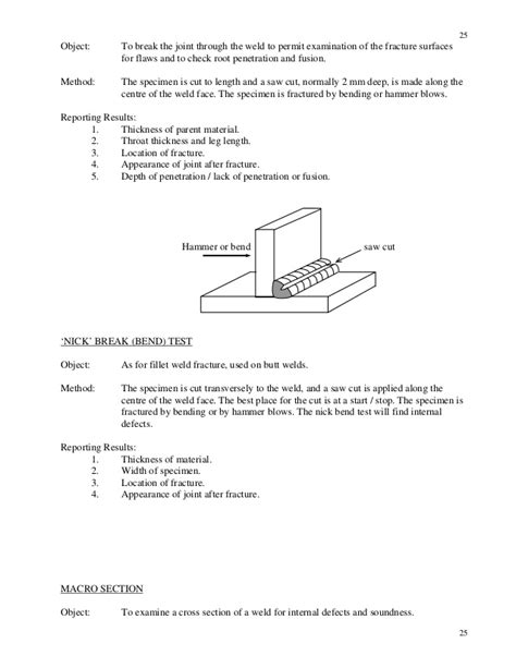 cross sectional t test cswip welding inspection notes and questions
