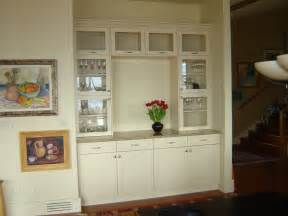 built in dining room buffet for the home