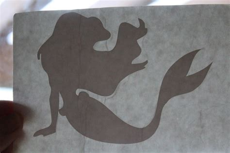 the little mermaid silhouette cliparts co