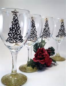 Upside Down Christmas Tree 17 best ideas about christmas wine glasses on pinterest