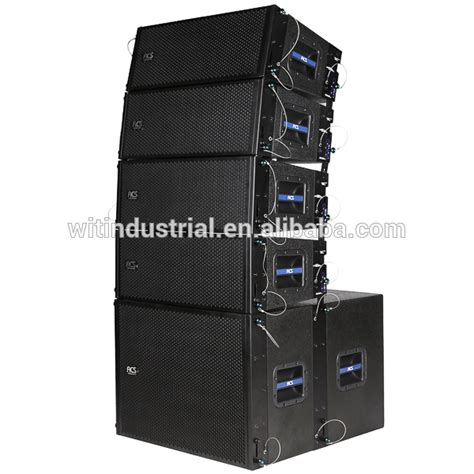 Box Line Array 8 Inch Professional Dual 8 Inch Line Array Speaker China Buy