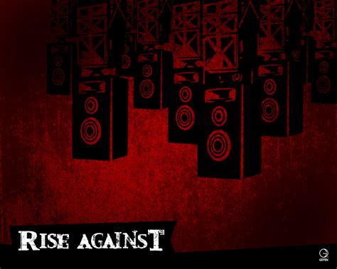 themes music com rise against wallpaper all about music