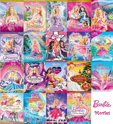 the first collection of nuevas peliculas en dvd de barbie la coleccion completa 70 00 en mercado libre