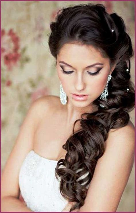 bridal hairstyles dark hair wedding hairstyles for long hair for the bridesmaids