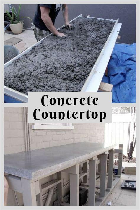 concrete countertop diy   diy diy concrete countertops diy