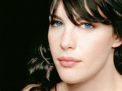 hollywood actress with blue eyes liv tyler