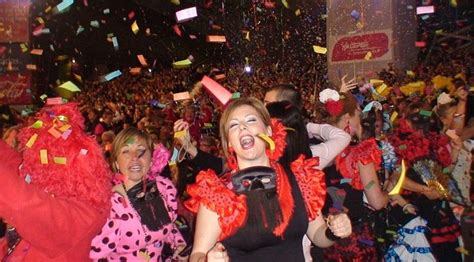 Tenerife carnival is full of queens cross dressing and burning