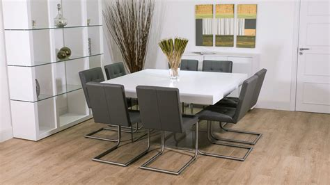 8 seater square dining room table 8 seater square dining room table alliancemv