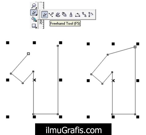 desain struktur organisasi coreldraw tutorial coreldraw 11 12 x3 x4 x5 x6 x7 lengkap