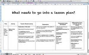 how to make a lesson plan template in word lesson plans thepebuzz