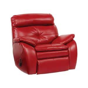 modern red chair leather recliner rocking chair yr1141 1 china mainland living room chairs