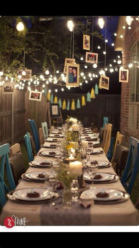 This is a beautiful 10 year wedding anniversary party idea