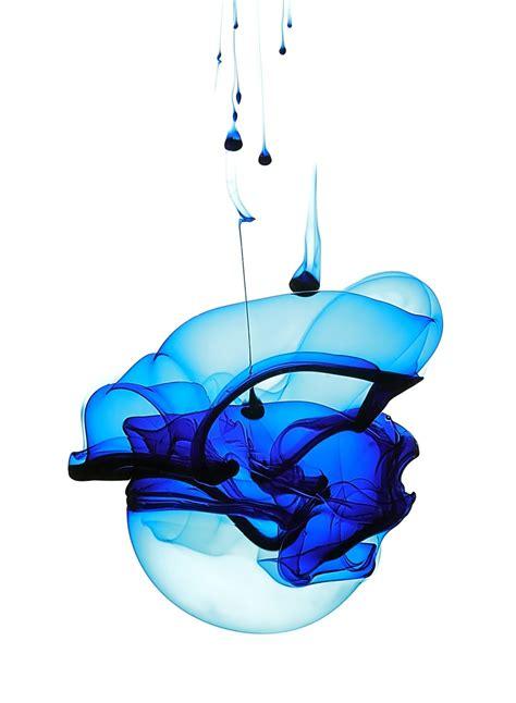 blue ink blue ink in water by kokoshadow on deviantart