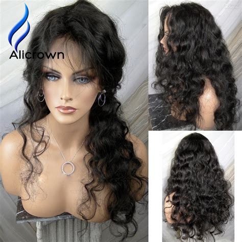 With Wig On by Alicrown Curly Lace Front Wig Lace Wig With